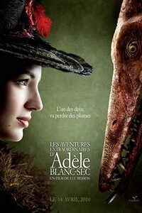 Download The Extraordinary Adventures of Adèle Blanc-Sec (2010) {Hindi-French} 720p [1GB]